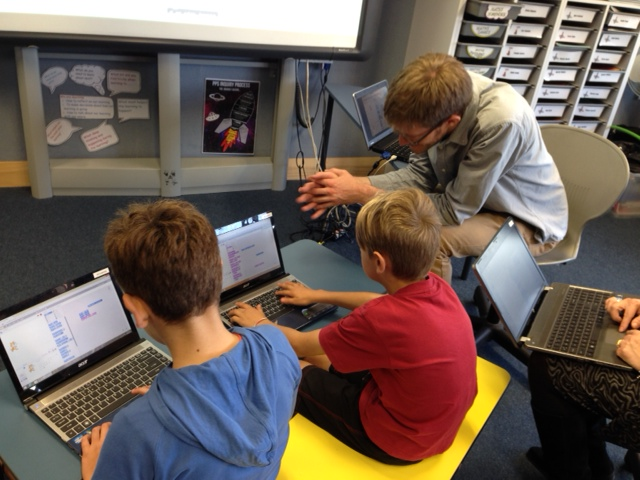 Teaching Scratch for FutureInTech